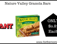 Giant: Nature Valley Granola Bars ONLY $0.87 Each Starting 2/28!</body></html>