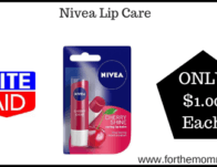 Nivea Lip Care ONLY $1 Each Starting 2/16