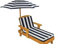 Outdoor Chaise with Umbrella $59.99 {Reg $120}