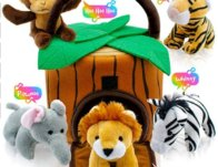 Play22 Plush Talking Stuffed Animals Jungle Set $14.99 {Reg $40}