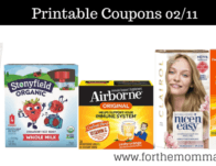Newest Printable Coupons 02/11: Save On Gold Bond, Alka-Seltzer, Clairol & More