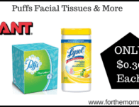 Giant: Puffs Facial Tissues & More ONLY $0.30 Each + More Deals St</body></html>