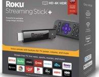 Roku Streaming Stick+ 4K HDR $39 (Reg $60)