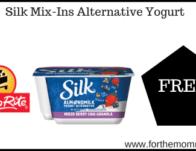 ShopRite: FREE Silk Mix-Ins Alternative Yogurt Thru 2/29!