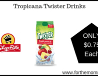 Tropicana Twister Drinks JUST $0.75 Each Starting 2/16!