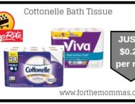 Cottonelle Bath Tissue JUST $0.27 Per Roll + More Deals Starting 2/16! {Updated}