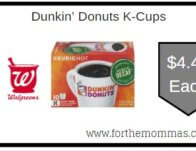 Dunkin' Donuts K-Cups ONLY $4.49 Starting 2/16