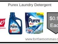 Purex Laundry Detergent ONLY $0.99 Starting 2/16