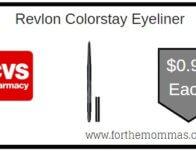 Revlon Colorstay Eyeliner ONLY $0.99 Each Starting 2/16