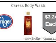Kroger: Caress Body Wash ONLY $3.24 {Reg $4.29}
