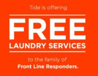 Free Tide Laundry Service for Front Line Responders