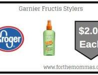 Kroger: Garnier Fructis Stylers ONLY $2.00 (Reg $3.49)