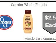Garnier Whole Blends ONLY $2.50 (Reg $3.99)