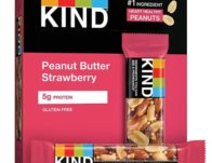 KIND Bars Peanut Butter & Strawberry 12-Ct ONLY $7.49 Shipped