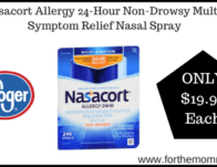 Kroger: Nasacort Allergy 24-Hour Non-Drowsy Multi-Symptom Relief Nasal Spray ONLY $19.99