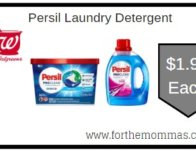 Walgreens: Persil Laundry Detergent ONLY $1.99 Starting 4/12