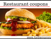 Online Restaurant Coupons and Deals for May 2020
