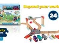 Thomas & Friends Fisher-Price Wood, Lift & Load Cargo Set $28.50 {Reg $70}