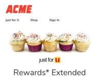 Just For U Rewards Extended