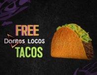 FREE Doritos Locos Tacos at Taco Bell Today!!</body></html>