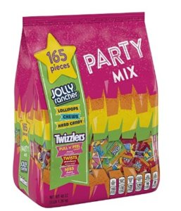 JOLLY RANCHER & TWIZZLERS Candy Variety Pack, 165 Pieces, 48 oz $5.23