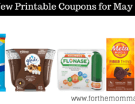 Roundup of New Coupons For May Over $149 In Savings