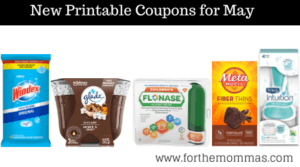 New Printable Coupons for May