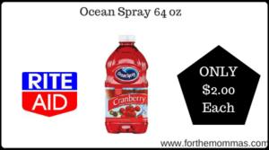 Ocean Spray 64 oz