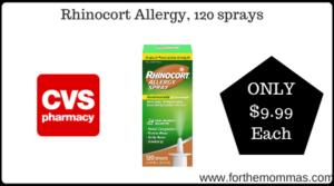 Rhinocort Allergy, 120 sprays