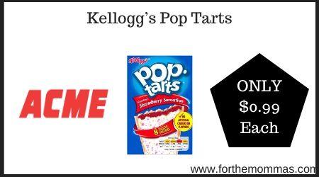 Pop-Tart Cutout Printable Template Craft For Kids   250x450