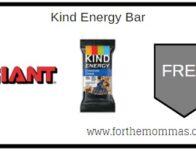 Giant: FREE Kind Energy Bar Thru 11/12!