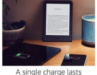 Kindle – Now with a Built-in Front Light – Black – Ad-Supported $59.99 {Reg $89.99}